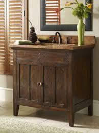 Bathroom Vanity Ideas Diy Rustic Bathroom Vanity Brown Varnished Teak Wood Base Vanity Cabin