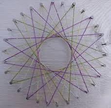 coloring page cute string geometry art coloring page string