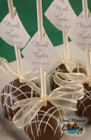 jean marie u0027s cakery elegant flat top cake pops are great for