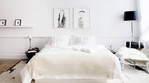 chambre contemporaine blanche chambre blanche et noir idées de décoration capreol us