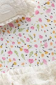 Muslin Crib Bedding Cotton Muslin Crib Sheet Anthropologie For My