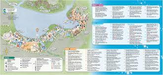 Disney Map Backside Of Downtown Disney Brochure Disney Springs Pinterest