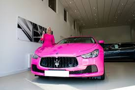 owns maserati this owns the pink maserati in the uk maserati and cars