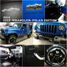 You Love Winter And You Will Love The 2014 Jeep Wranger Polar