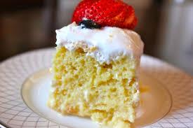 mango tres leches cake
