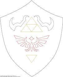 Halloween Printable Patterns Shield Pattern For Future Link Zelda Costume Http Www Firefly