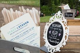 rustic backyard wedding stacy steven northern arm central