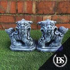 small foo dogs small foo dog s garden ornament mould brightstone moulds