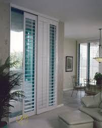 window treatment ideas for doors 3 blind mice plantation shutter