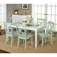 target marketing systems albury 7 piece dining table set hayneedle