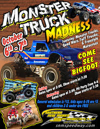 bigfoot monster truck schedule southern new mexico speedway las cruces new mexico monster