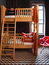 cute bunk beds for girls small shared kids u0027 room storage and decorating hgtv