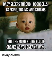 Sleeping Baby Meme - 25 best memes about baby sleeping baby sleeping memes