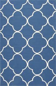 jaipur living barcelona ba64 blue trellis chain tiles area rug
