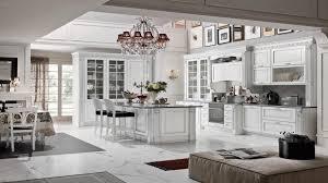 countertops spacious victorian kitchen design white kitchen spacious victorian kitchen design white kitchen marble countertops antique chandeliers white glass cabinet doors white marble flooring