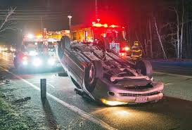 car rollover on route 130 in sandwich sandwich news capenews net