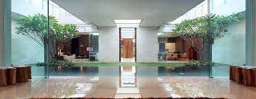 House Design Inside Garden Luxury Garden House In Jakarta Idesignarch Interior Design