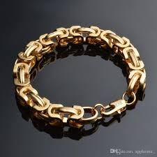 gold plated bracelet chain images 2018 mens womens gold chain 18k gold plated bracelet men 39 s figaro jpg
