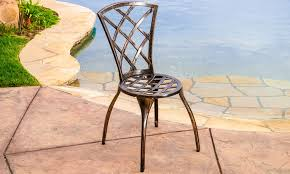 Outdoor Bistro Table Glenbrook Outdoor Bistro Set 3 Piece Groupon
