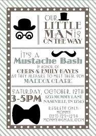 3 Perfect Ideas To Create Little Man Baby Shower Invitations Theruntime Com