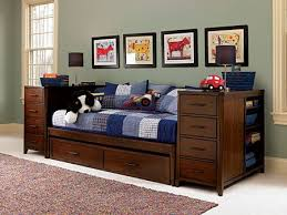 boys daybed photo of daybed with trundle and storage with boys bed