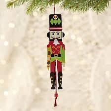 jumping nutcracker ornament crate and barrel