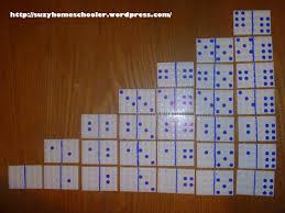 domino homemade dominoes suzy homeschooler