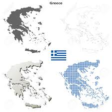 Blank Map Of Ancient Greece 379 Greece Map Vector Cliparts Stock Vector And Royalty Free