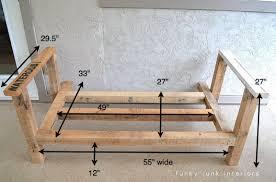 how i built the pallet wood sofa part 2 funky junk interiors