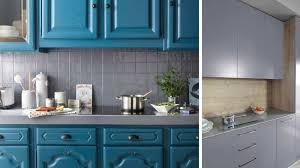 peinture meuble de cuisine peindre meuble cuisine avec moulure rayonnage cantilever