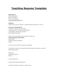 resume format exles for teachers high teacher resume sle format in word business exles
