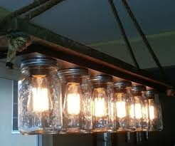 mason jar 6 light edison hanging lamp 7 steps with pictures