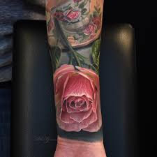 pink roses tattoo best tattoo ideas gallery