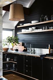 shiplap kitchen backsplash with cabinets 11 trending kitchen accent wall ideas tips photos