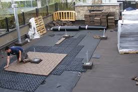Types Of Pavers For Patio by Pavers For Rooftop Decks Professional Deck Builder Finishes