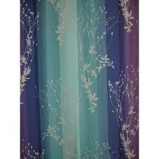 light purple shower curtain curtains ideas blue and purple shower curtain inspiring green