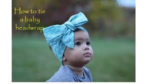 baby headwrap how to tie a baby wrap