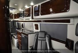 Motorhome Custom Interiors Mercedes Sprinter Rv U2013 Camper Vans Midwest Automotive