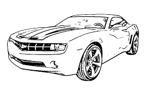 camaro coloring pages glum me