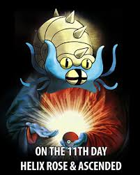 Helix Fossil Meme - lord helix meme by rurther on deviantart