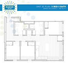 Plan 3 by Radius Housing And Residential Life