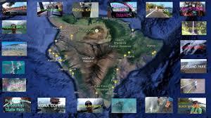 Hawaii Big Island Map Big Island Hawaii Interactive Vacation Map By Xzulas Youtube