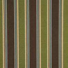 Indoor Outdoor Fabric For Upholstery Green Brown Blue And Gold Striped Indoor Outdoor Upholstery Fabric