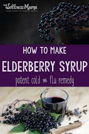 How To Make Home Smell Good by How To Make Elderberry Syrup Potent Cold Flu Remedy