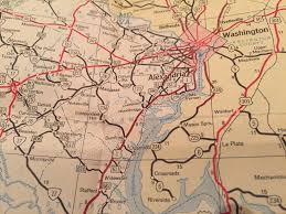 Virginia Highway Map by The Evolution Of Maps From Colonial Riverways To Interstate