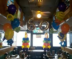 party people event decorating company 60th surprise birthday