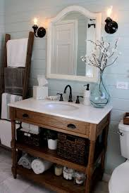 Rustic Cabin Bathroom - impressive rustic bathroom lights 131 rustic bathroom wall lights