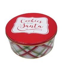 maker s large cookie tin cookies for santa joann