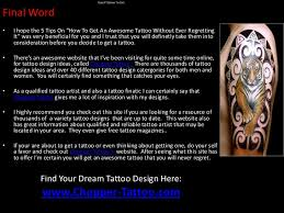good tattoos to get