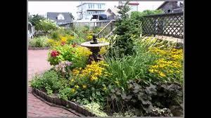 small perennial garden ideas youtube